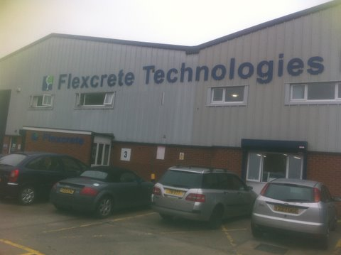 Flexcrete Air Conditioning Unit Installation