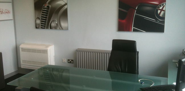 Alfa Romeo Office Air Conditioning