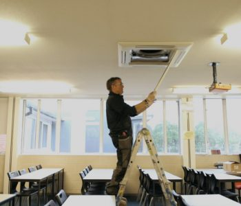 School Air Conditioning Installation
